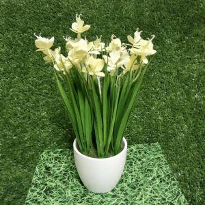 Декоративные цветы Ирисы B-20 (желтые)