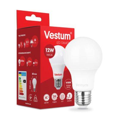 Лампа LED VESTUM A60 12W 4100K 220V E27