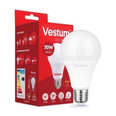 Лампа LED VESTUM A70 20W 3000K 220V E27