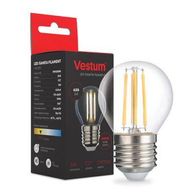 Лампа LED VESTUM ФИЛАМЕНТ G45 Е27 5ВТ 220V 3000К