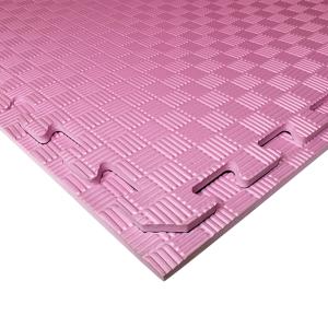 Коврик-пазл EVA SPORT 100х100х1 (розовый)