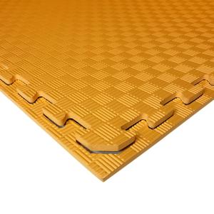 Коврик-пазл EVA SPORT 100х100х1 (оранжевый)
