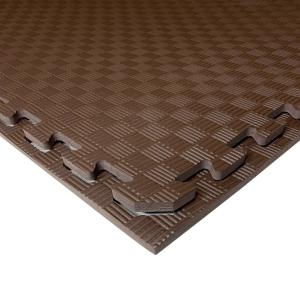 Коврик-пазл EVA SPORT 100х100х1 (шоколад)