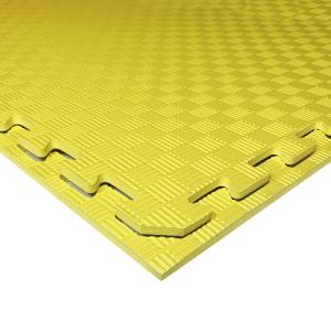 Коврик-пазл EVA SPORT 100х100х1 (жёлтый)