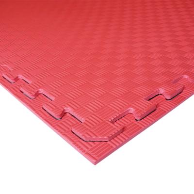 Коврик-пазл EVA SPORT 100х100х1 (красный)