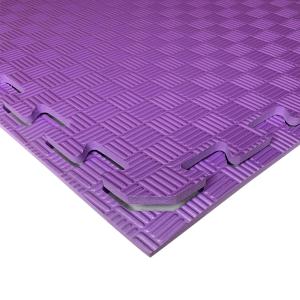 Коврик-пазл EVA SPORT 100х100х1 (фиолетовый)