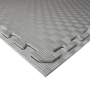 Коврик-пазл EVA SPORT 100х100х1 (серый)
