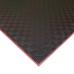 Коврик-пазл EVA SPORT 100х100х3 с бортиком (чёрно-красный)