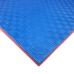 Коврик-пазл EVA SPORT 100х100х3 с бортиком (красно-синий)