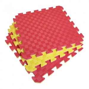 Коврик-пазл EVA SPORT 50х50х2 (жёлто-красный)