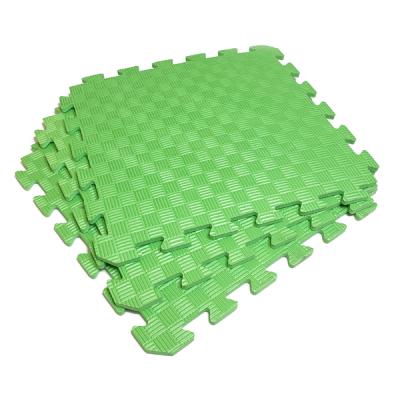 Коврик-пазл EVA SPORT 50х50х1 (зелёный)
