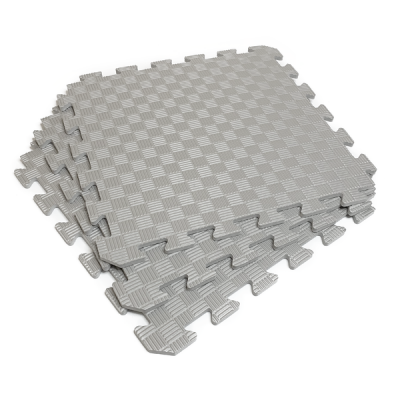Коврик-пазл EVA SPORT 50х50х1 (серый)