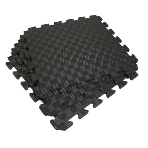 Коврик-пазл EVA SPORT 50х50х1 (чёрный)