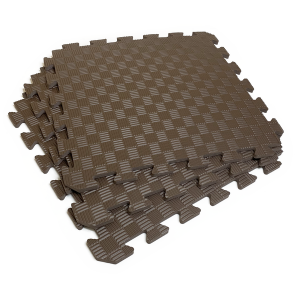 Коврик-пазл EVA SPORT 50х50х1 (шоколад)