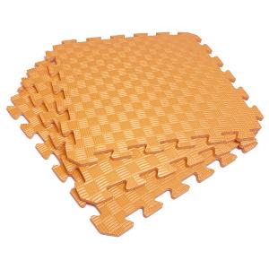Коврик-пазл EVA SPORT 50х50х1 (оранжевый)