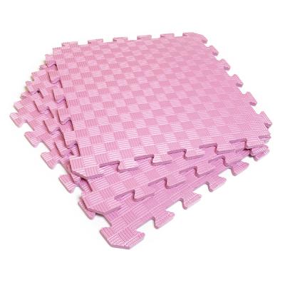 Коврик-пазл EVA SPORT 50х50х1 (розовый)