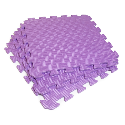 Коврик-пазл EVA SPORT 50х50х1 (фиолетовый)