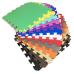 Коврик-пазл EVA KIDS 50х50х1 (бирюзовый)