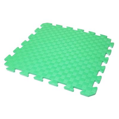 Коврик-пазл EVA KIDS 50х50х1 (зелёный)