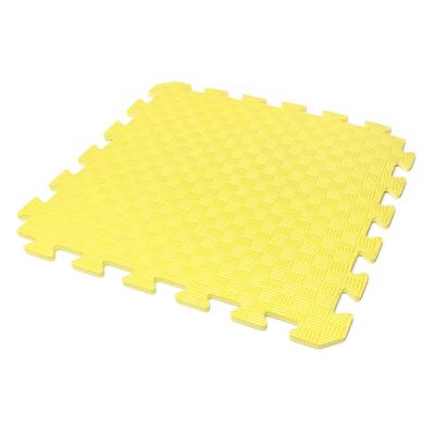 Коврик-пазл EVA KIDS 50х50х1 (жёлтый)