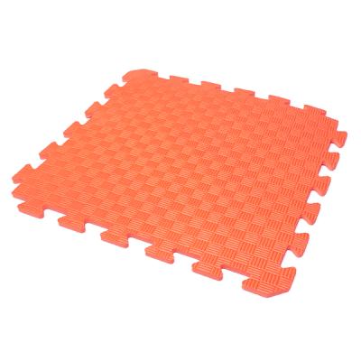 Коврик-пазл EVA KIDS 50х50х1 (оранжевый)