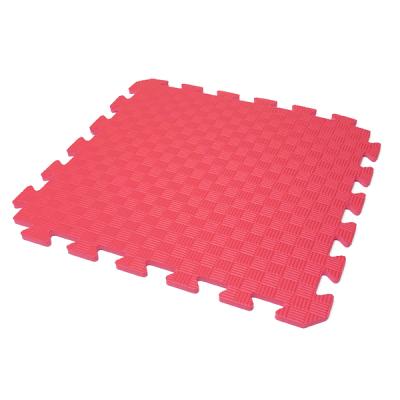 Коврик-пазл EVA KIDS 50х50х1 (красный)