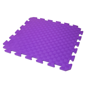 Коврик-пазл EVA KIDS 50х50х1 (фиолетовый)